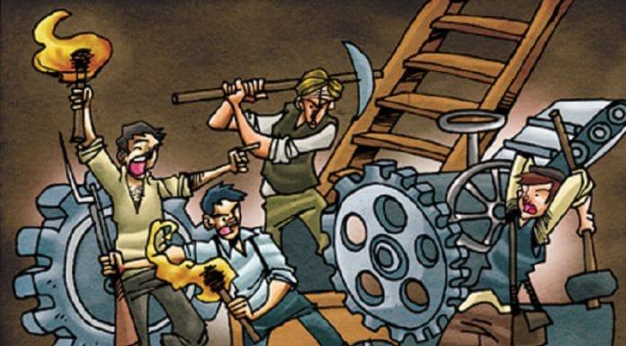 revolución industrial ludismo movimiento obrero
