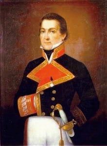 Retrato de Alejandro Malaspina en el Museo Naval de Madrid
