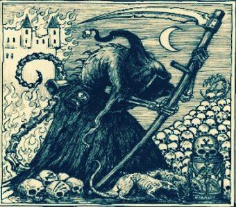 peste negra muertos de la muerte