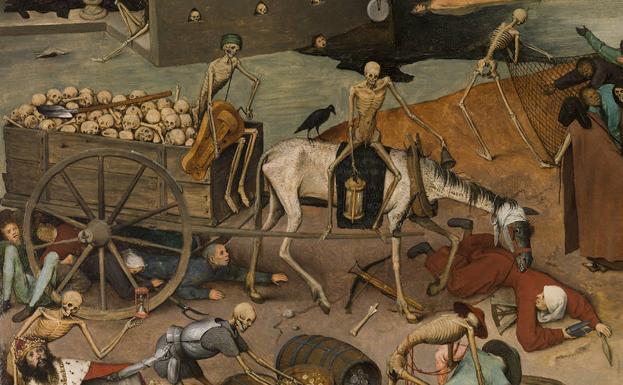 Brueghel el Viejo - alegoría a la peste negra