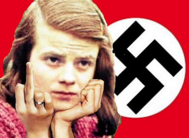"""Sophie Scholl y """"La Rosa Blanca"""": ¡Que te jodan, Hitler!"""