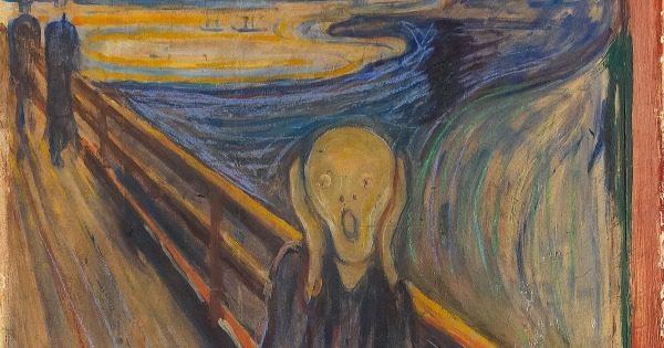 El Grito de Munch pintado ante el horror de la gripe de 1918