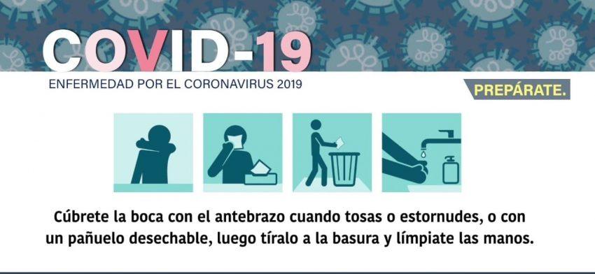Juntos contra el coronavirus.