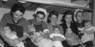 maternidad durante el holocuasto judío