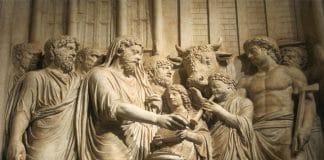 flamines romanos y Marco Aurelio