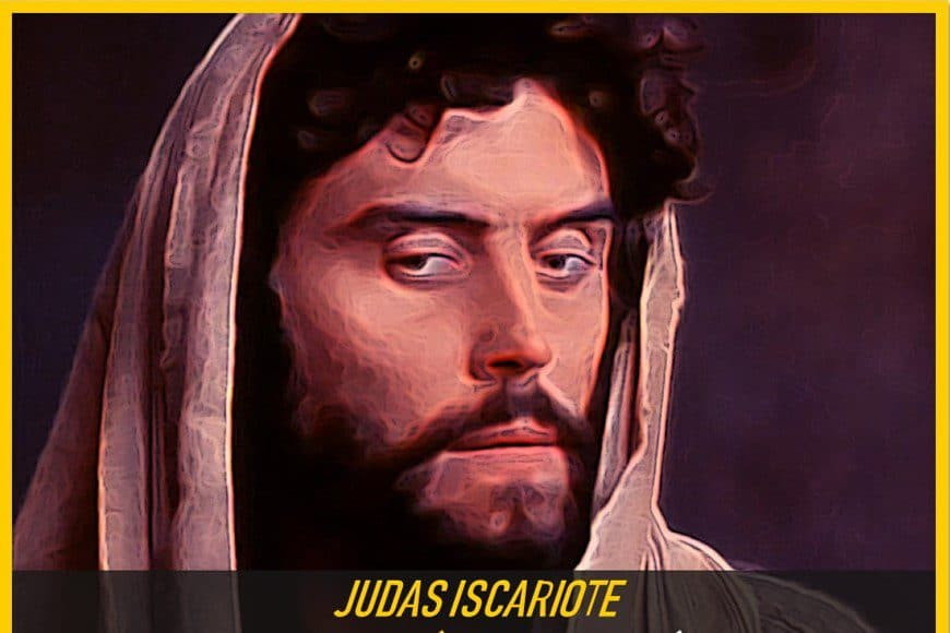 biografía judas iscariote traidor de jesus de nazaret
