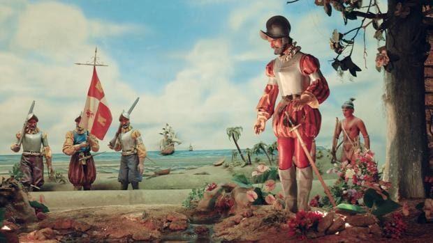 Llegada de Juan Ponce de León a Florida.