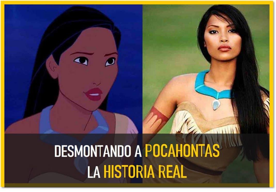 la historia real de Pocahontas desmontando a Disney