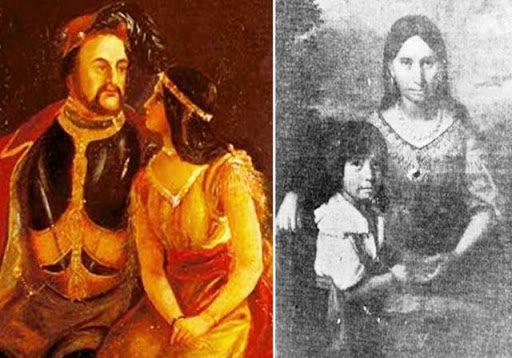 historial real de Pocahontas y John Rolfe