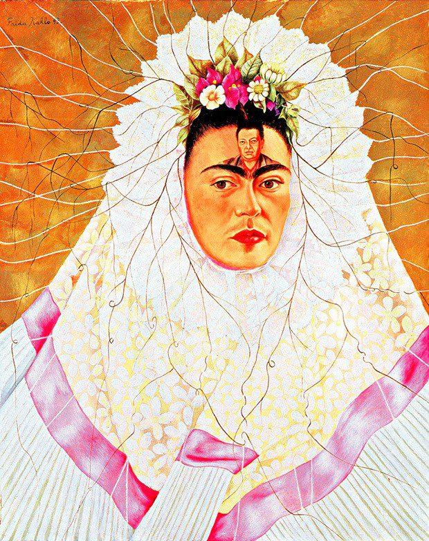 famosos cuadros y pinturas de frida kahlo