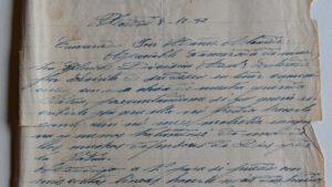 Carta a José Mañez Alcaide, soldado en el frente