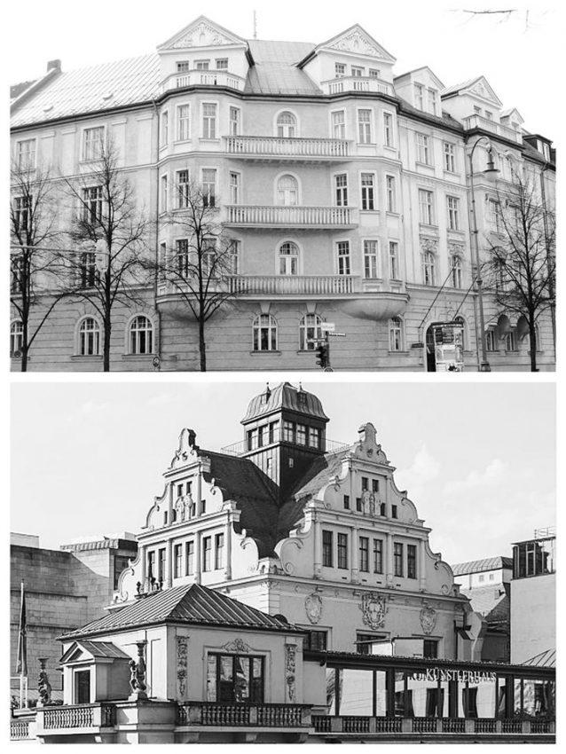 Kuenstlerhaus opereta Múnich Hitler fiestas nazis