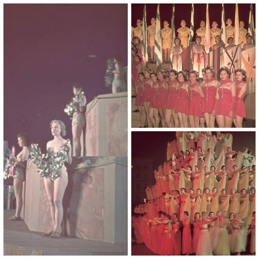 State Opera Ballet La Noche de las Amazonas show mujeres desnudas nazismo espectáculo