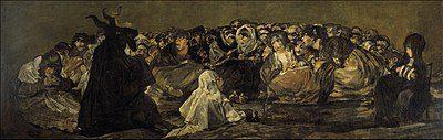 El Aquelarre - las brujas de Goya