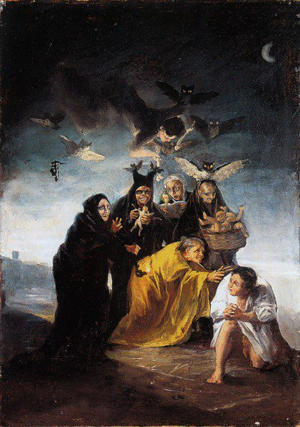 las brujas de Goya
