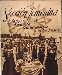 sección femenina de la falange española y de las jons