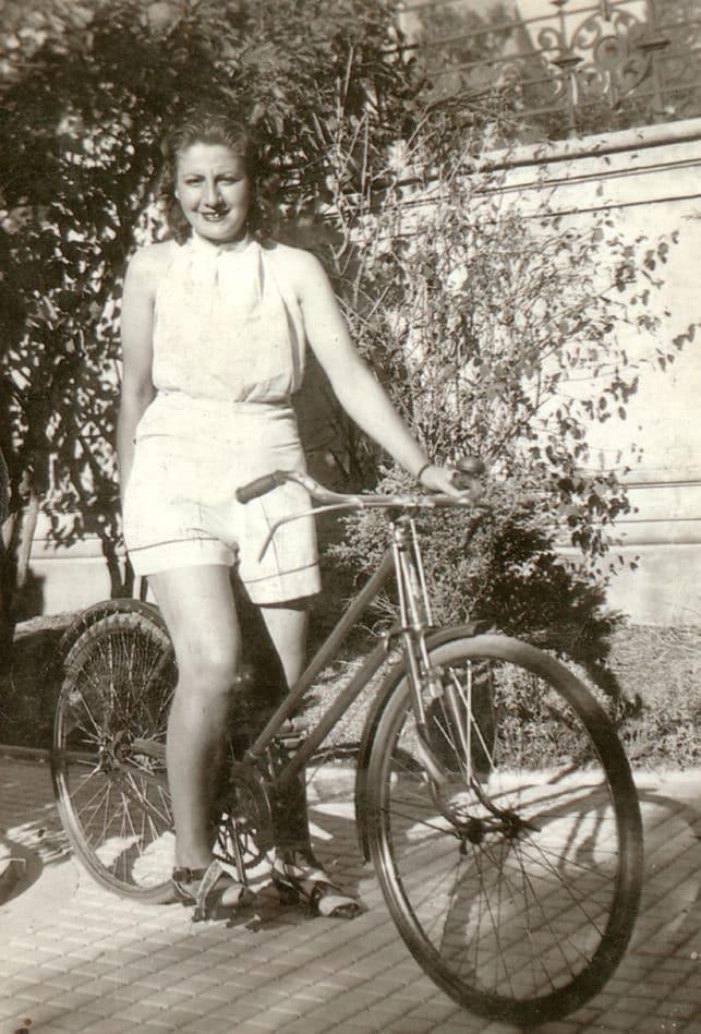 gloria fuertes bicicleta madrid