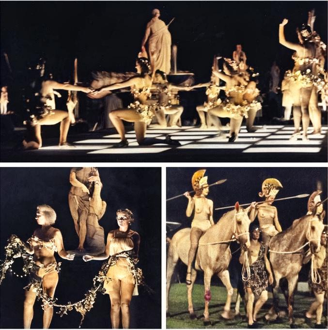 Festival de Verano nazi jardines del Palacio de Nymphenburg La Noche de las Amazonas