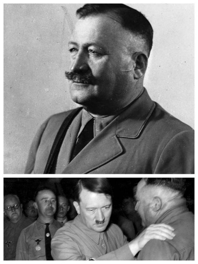 Christian Weber Adolf Hitler