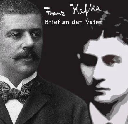 Hermann Kafka y su hijo Franz Kafka