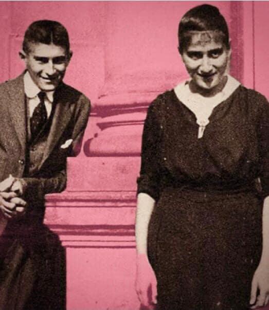 Franz Kafka y su hermana Ottla
