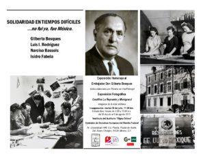 Gilberto Bosques homenaje