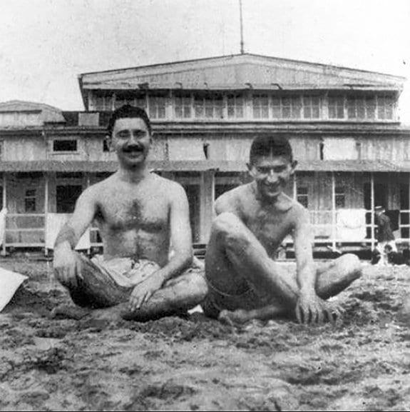 Max Brod y Franz Kafka
