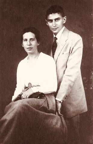 Felice Bauer y Franz Kafka