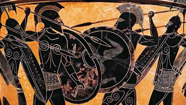 crátera griega cogobernantes en la Historia