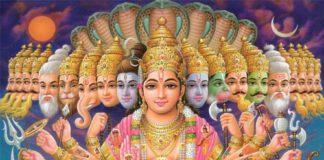 dios Vishnu hindú y sus principales avatares