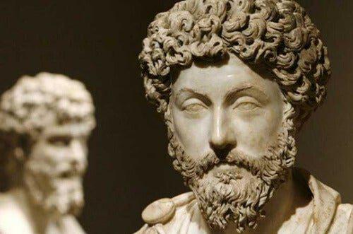 Busto del emperador Marco Aurelio