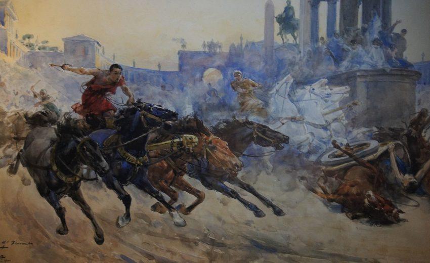 Carrera de carros romanos - Circo Máximo