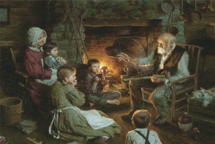 Cuentacuentos - el origen de los cuentos