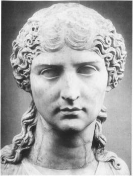 Busto de Agripina la Menor