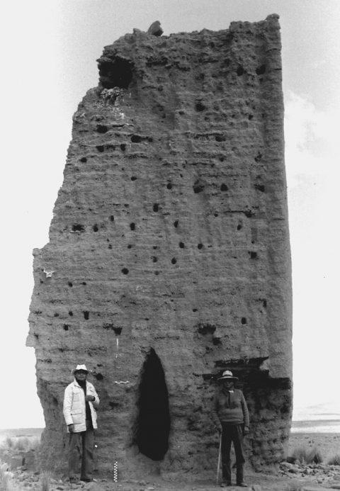 Una de las tres torres de Visamaypata