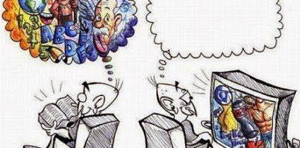 Leer vs. Ver la televisión