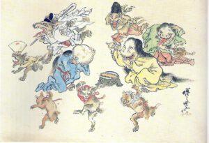 yōkai japón