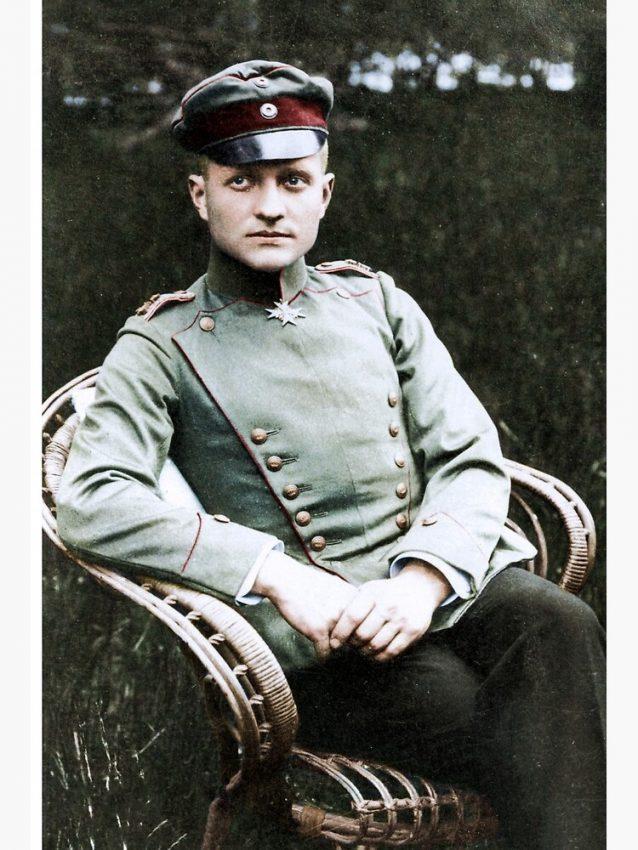 Manfred Von Richtofen - el barón rojo