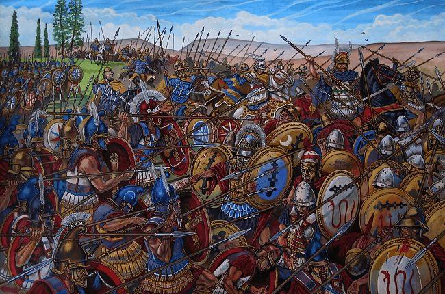 La Batalla de Queronea