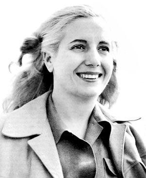 Eva Duarte de Perón en su juventud