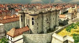 Vista en 3D de La Bastilla en el siglo XVIII