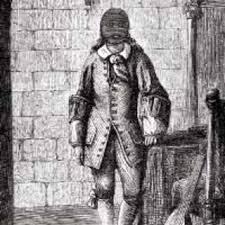 Dibujo de Vivien de Bulonde - el hombre de la máscara de hierro