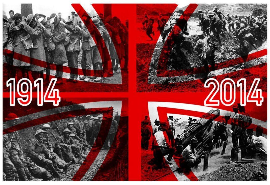 La clase dirigente legitima el inicio de la I Guerra Mundial a través del surgimiento de un fervor patriotico de carácter nacionalista