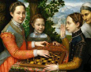 El juego del ajedrez por Sofonisba Anguissola