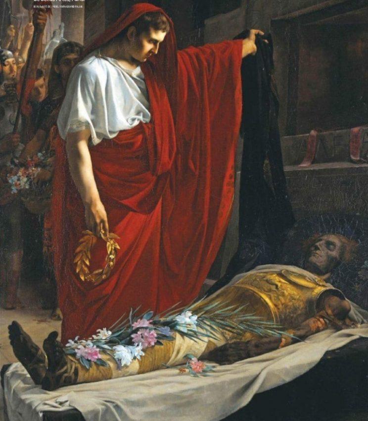 la tumba perdida de alejandro magno momia