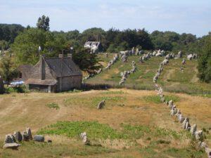 Alineamiento de Menhires en Carnac-Francia