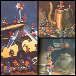 Walt Disney: The Gramlins - A royal Air Force Story by Flifht Lieutenant roald Dahl