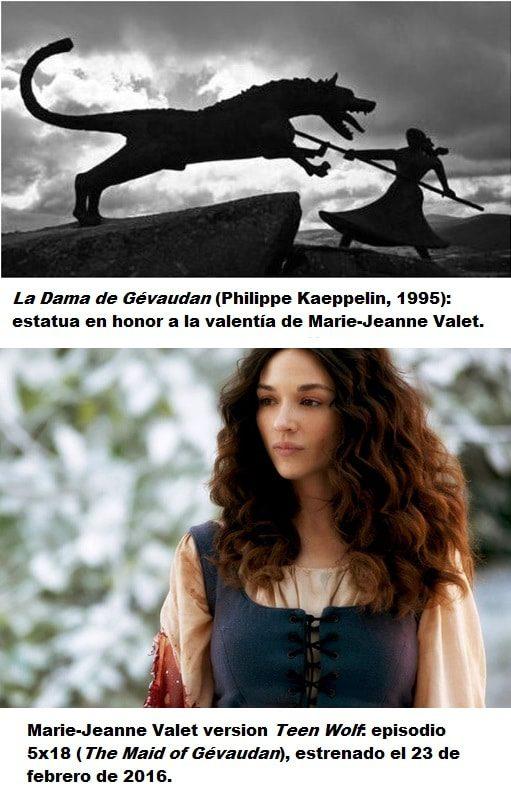 La Dama de Gévaudan marie-jeanne valet the maid of gévaudan teen wolf