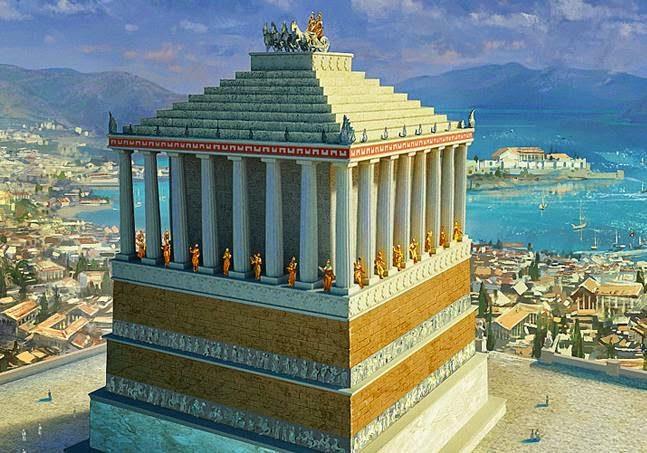 Mausoleo de Halicarnaso historia características curiosidades