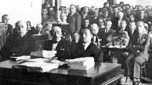 Fotografía de una de las sesiones del juicio en el que el capitán Rojas acabó condenado a prisión